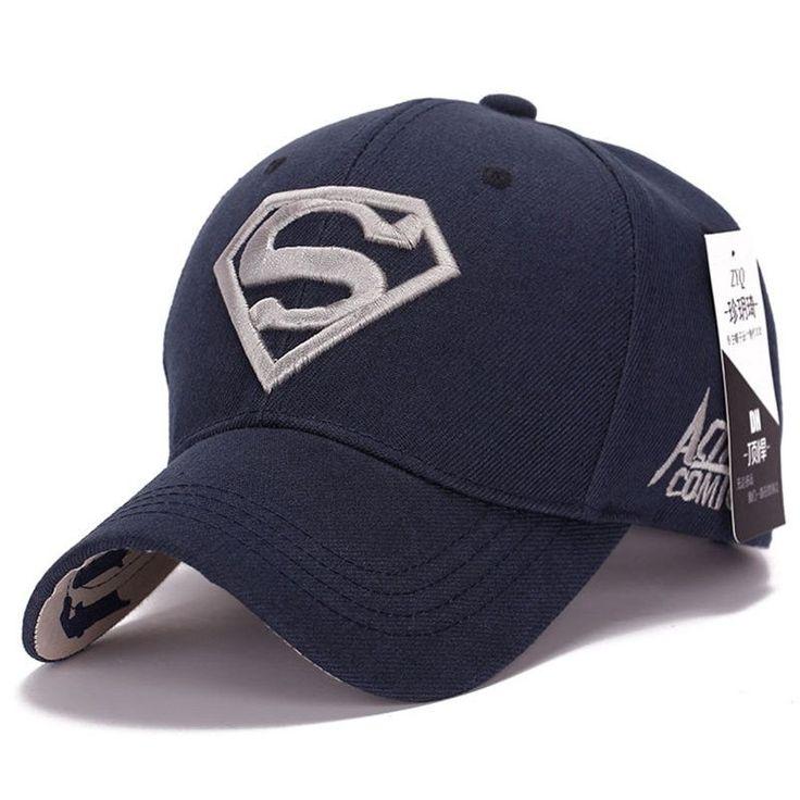 2015 cool amazing color casual gorras super-man superman hero 3D logo  baseball sport caps 681d86ca691