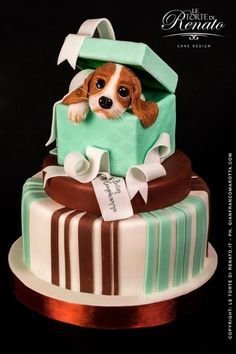 39 Best Dog Themed Cakes Images On Pinterest Animal