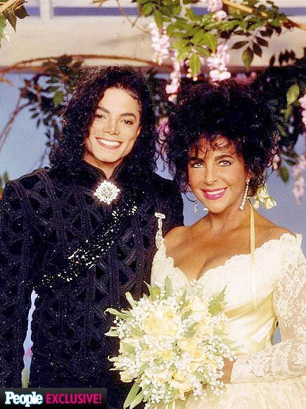 Elizabeth Taylor & Michael Jackson at Her Final Wedding: Never-Before-Seen Photos| Weddings, Brooke Shields, Elizabeth Taylor, Michael Jackson, Individual Class
