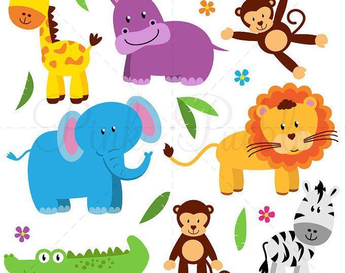 Farm Animals Clipart Farm Animals Clip Art Barnyard Clipart Etsy Zoo Crafts Farm Animals Clipart Animals Clip Art