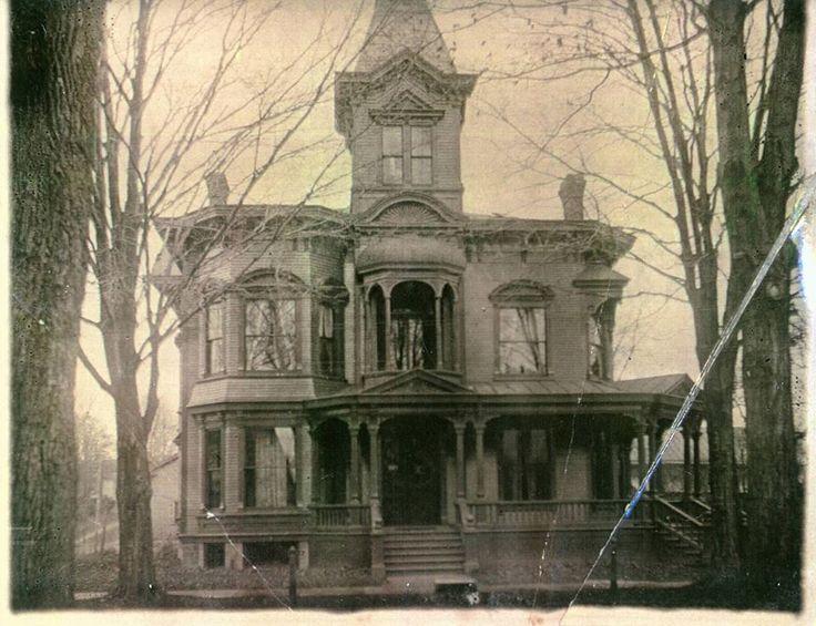 Burritt Mansion, Weedsport, N.Y. Built in 1876 Shared by ...