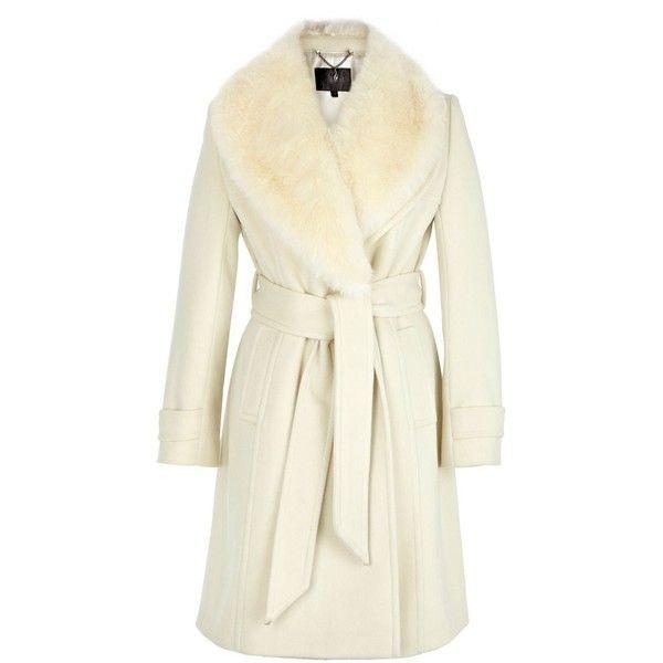 Coast Cordelia Coat ($220) ❤ liked on Polyvore featuring outerwear, coats, jackets, coats & jackets, casaco, women, beige coat, beige wool coat, waterproof coat and wool coat