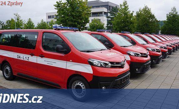 Dobrovolní hasiči vyjedou k požárům s novou technikou