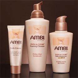 Ambi Fade Cream, even skin for coloured women