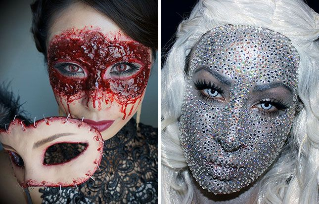 The 10 Best Places to Find Halloween Makeup Online via Brit + Co.