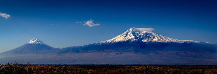 "For some reason this was deleted, so decided to repost. This was taken from Armenia, Mount Ararat and little Ararat, where Noah's Ark is supposed to have rested after the flood. You can see more  of my photos at:  <a href=""www.photojohnwright.net"">photojohnwright.net</a>"