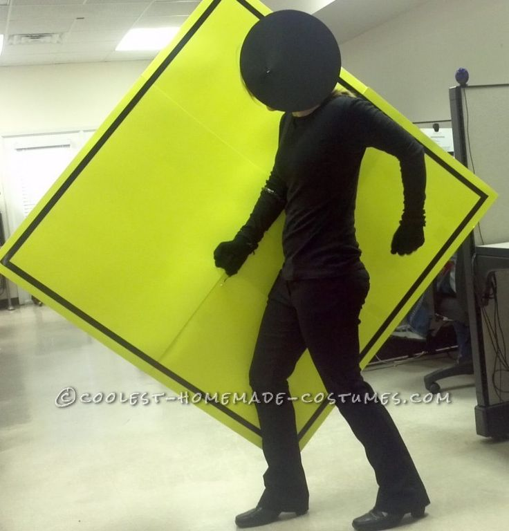 Easy and Cheap Homemade Costume Idea: Pedestrian Crossing ... This website is the Pinterest of costumes