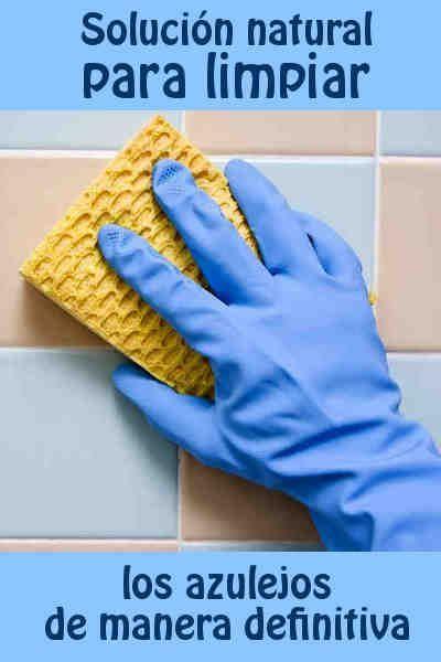 Solución natural para limpiar los azulejos de manera definitiva