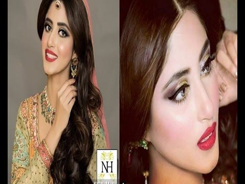 Sajal Ali Bridal Photoshoot For Nadia Hussain Salon 2016
