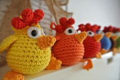 Juguete - Las diez gallinas.