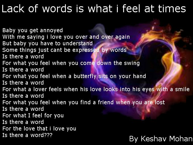 """A Word For Love - Poems by Teen Poets """"A Word For Love"""" a Picture Poem by Keshav Mohan. Originally posted here: http://forums.familyfriendpoems.com/topic.asp?TOPIC_ID=43021"""