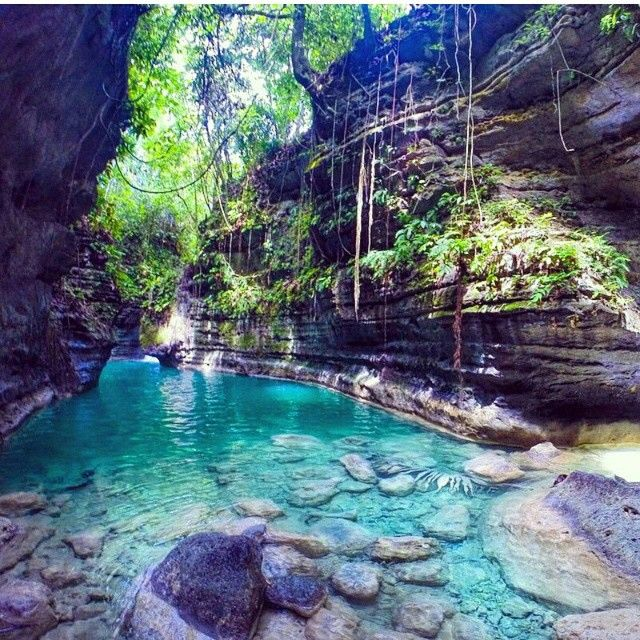 Matutinao River, Cebu, Philippines. ✈✈✈ Here is your chance to win a Free Roundtrip Ticket to anywhere in the world **GIVEAWAY** ✈✈✈ https://thedecisionmoment.com/free-roundtrip-tickets-giveaway/