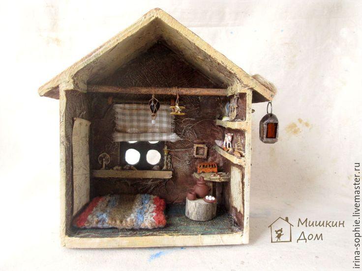 Купить Дом путешественника. Кукольный дом. - коричневый, дом, домик, кукольный дом, кукольный домик
