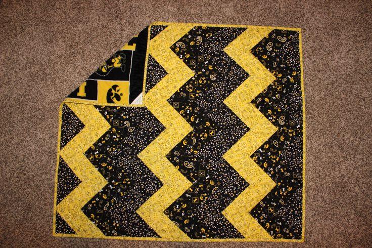 9 Best Iowa Hawkeye Quilt Images On Pinterest Iowa