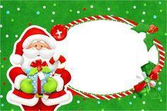 Convite Natal Vermelho e Verde