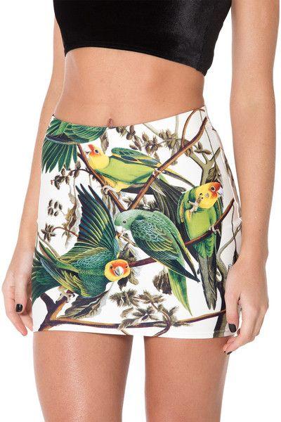 Sweet Carolina Wifey Skirt (USA LIMITED/WORLDWIDE 48HR) by Black Milk Clothing $50AUD ($45USD)