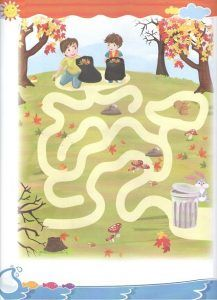 Fall Maze Printable Related Autumn