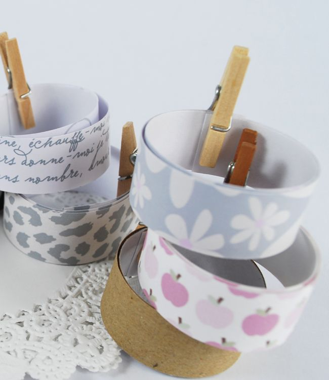How to print your own Washi Tape.