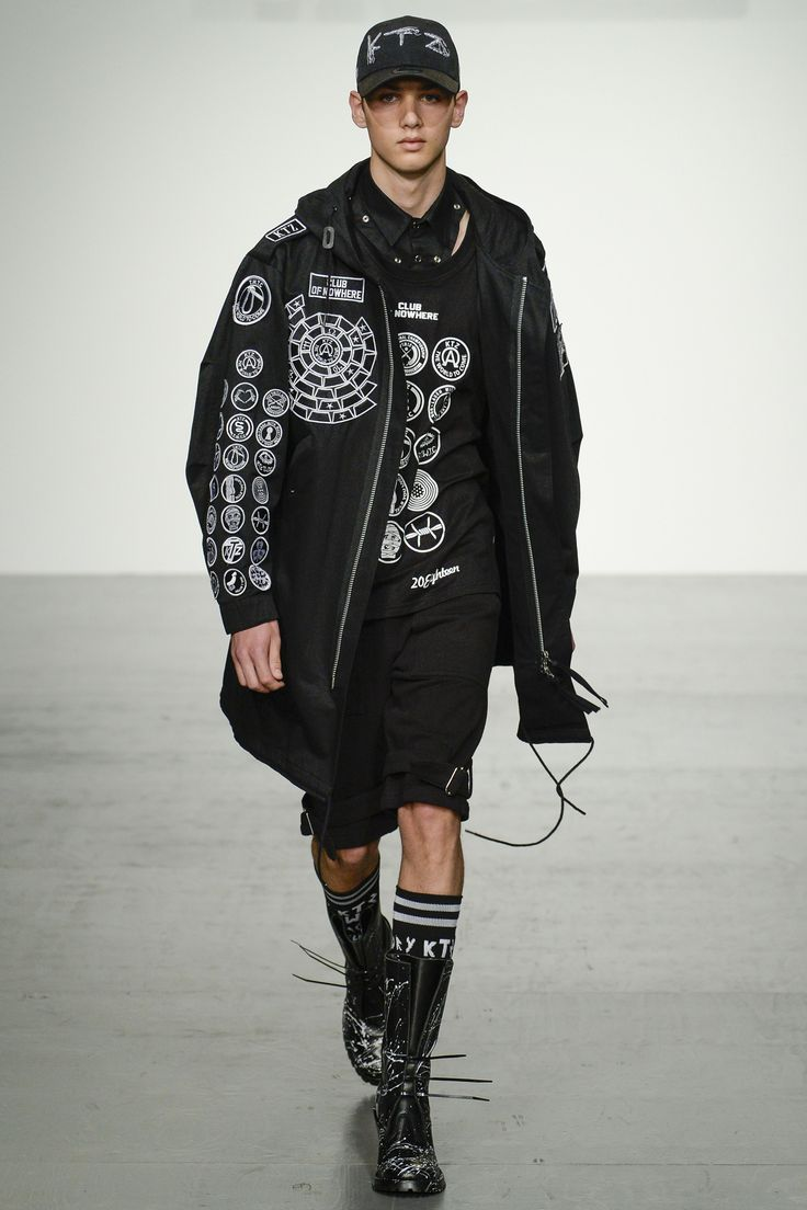 KTZ Spring 2018 Menswear collection.