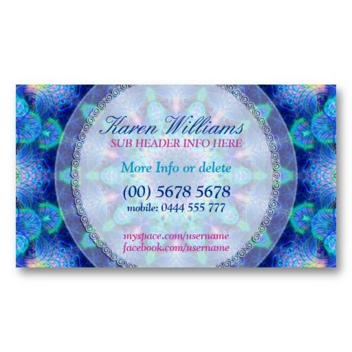 23 best new age business cards images on pinterest business cards blue energy new age holistic business card colourmoves