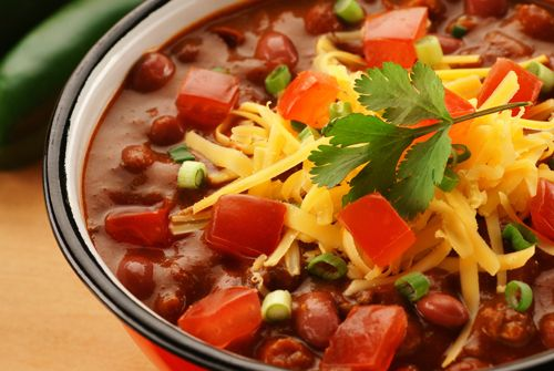 Black Bean and Rice Chili-in-the-Oven