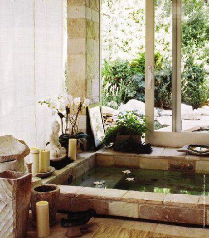 76 best make your bathroom a spa images on pinterest - Decoracion cuartos de bano ...