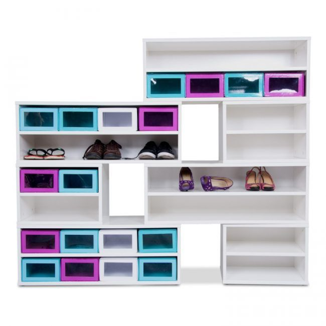 footprint shoe shelf from jme horizontal shoe rack from jme nest wall shoe rack from jme