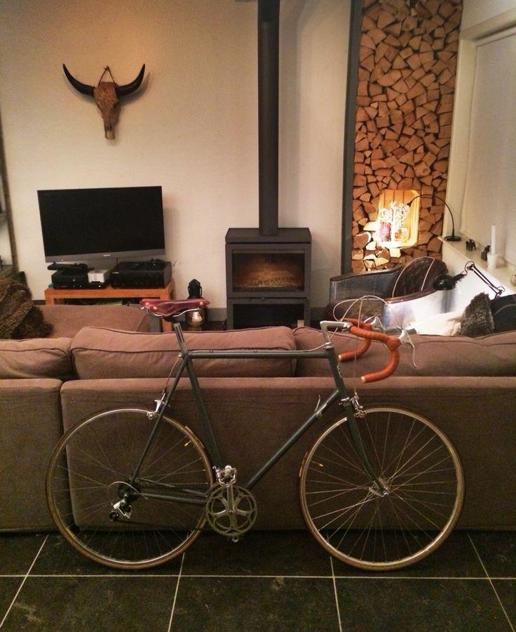 28 jaar oud is mijn fietsje. In ere hersteld.