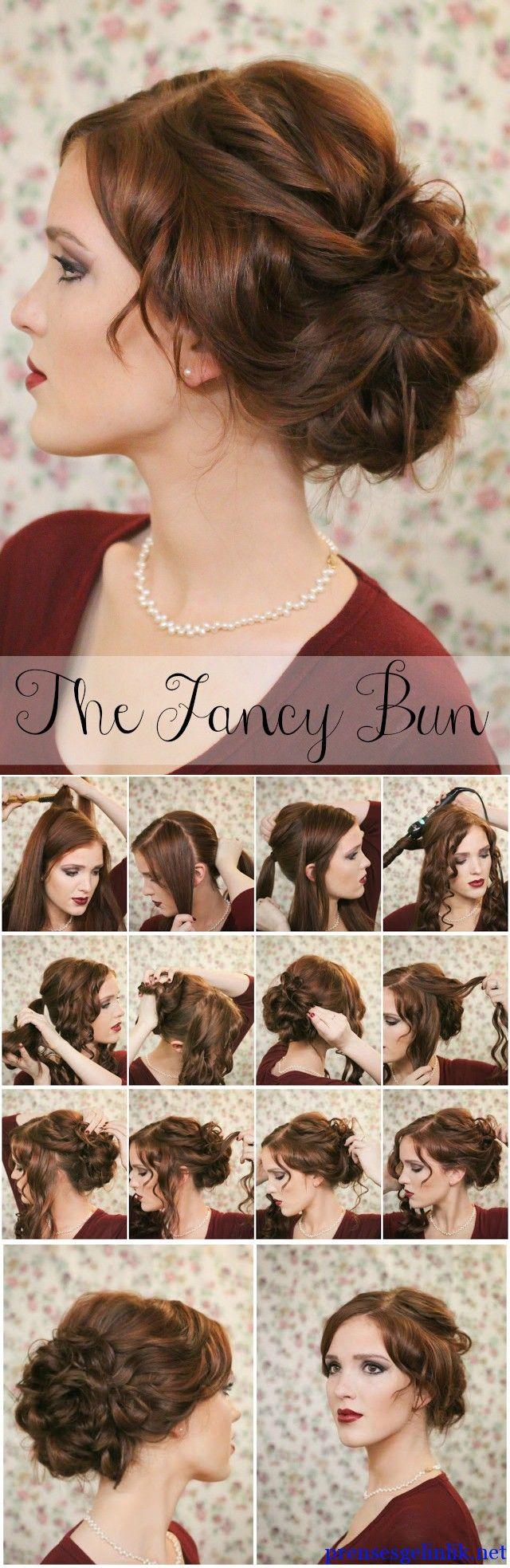 Bun hair styles easy bun hair women fashions