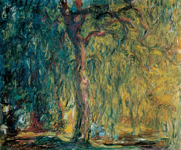 Claude Monet - Weeping Willow, 1918-1919