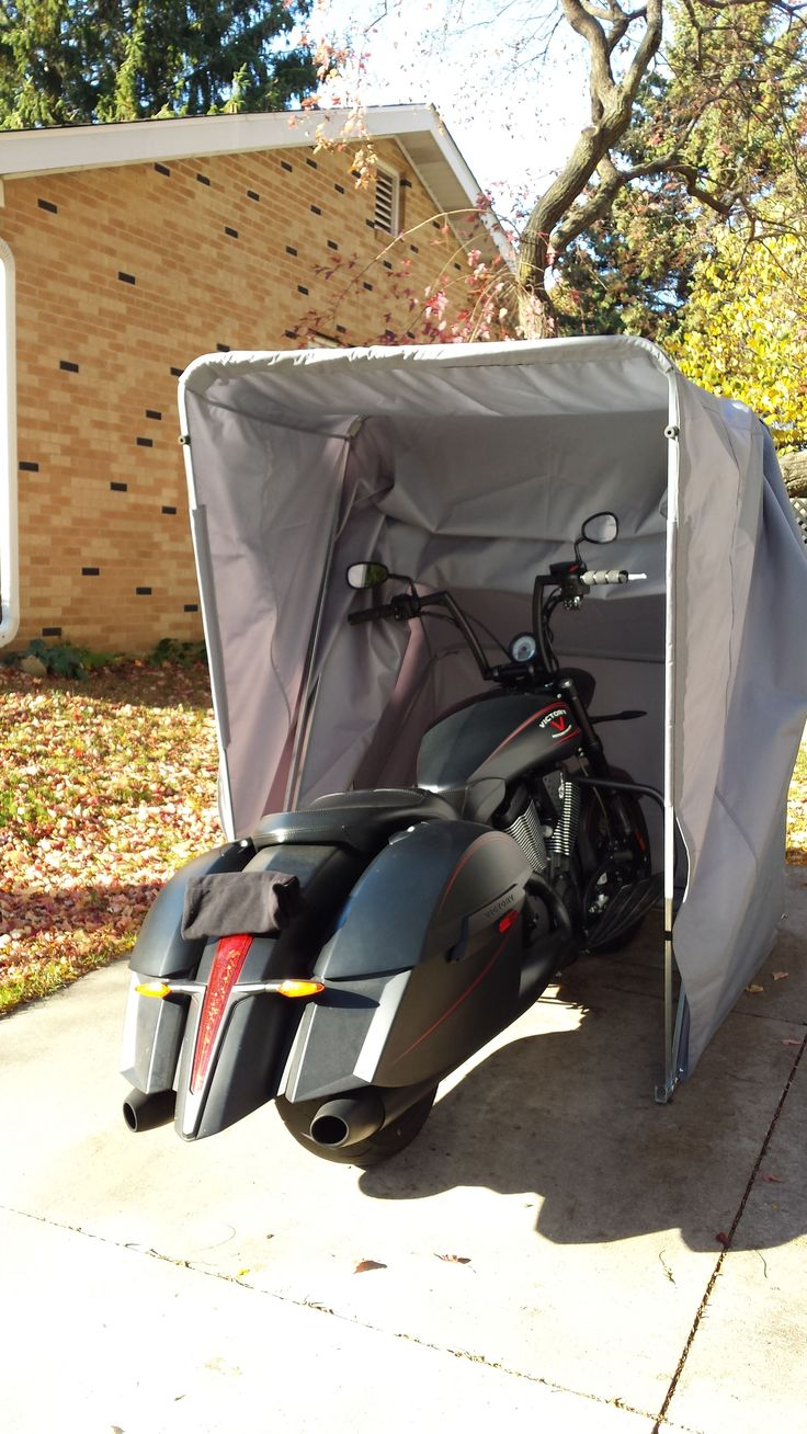 Motorcycle Sheds And Covers : Best ideas about motorcycle storage shed on pinterest