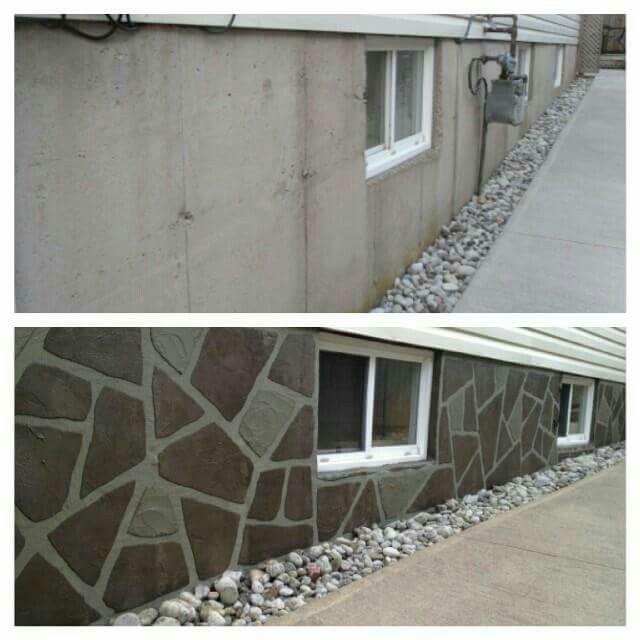 15 Best Parging Wall Coatings Images On Pinterest Basement Basements And Exterior Homes