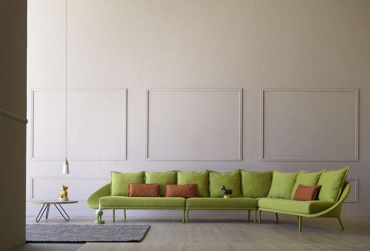 The new modular Lem sofa! #miniforms #sofa #interior design