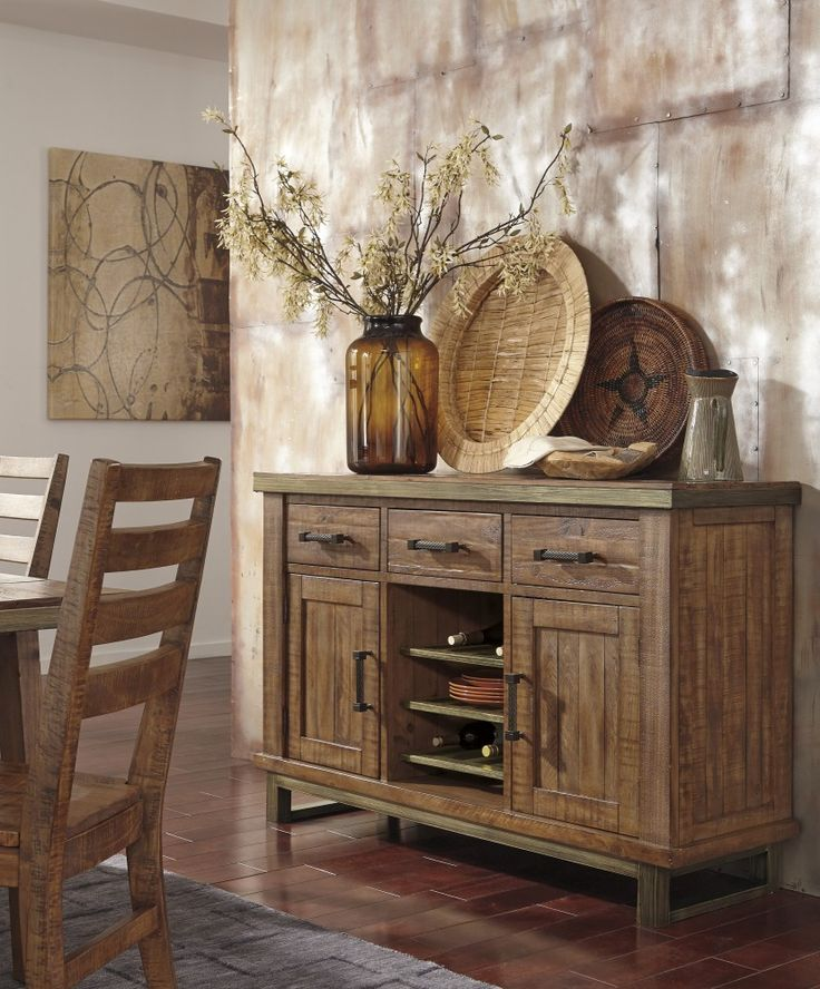 Get Your Dondie   Light Brown   Dining Room Server At Furnish 123 Eau  Claire, Eau Claire WI Furniture Store.