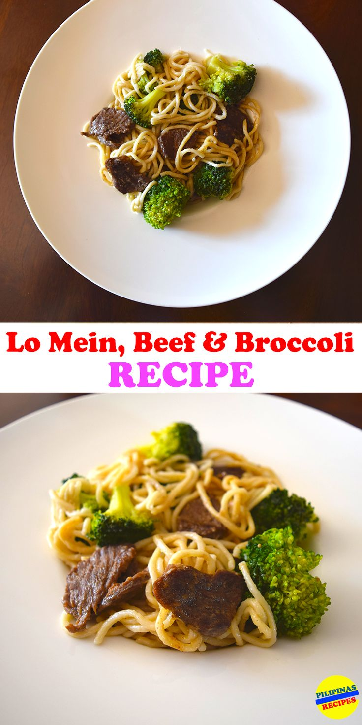 The Lo Mein with Beef and Broccoli recipe is just like the Beef Broccoli stew but in Chinese noodle form