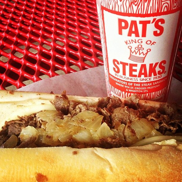 Another well-known Philly spot - home of the famous Philly cheesesteak!