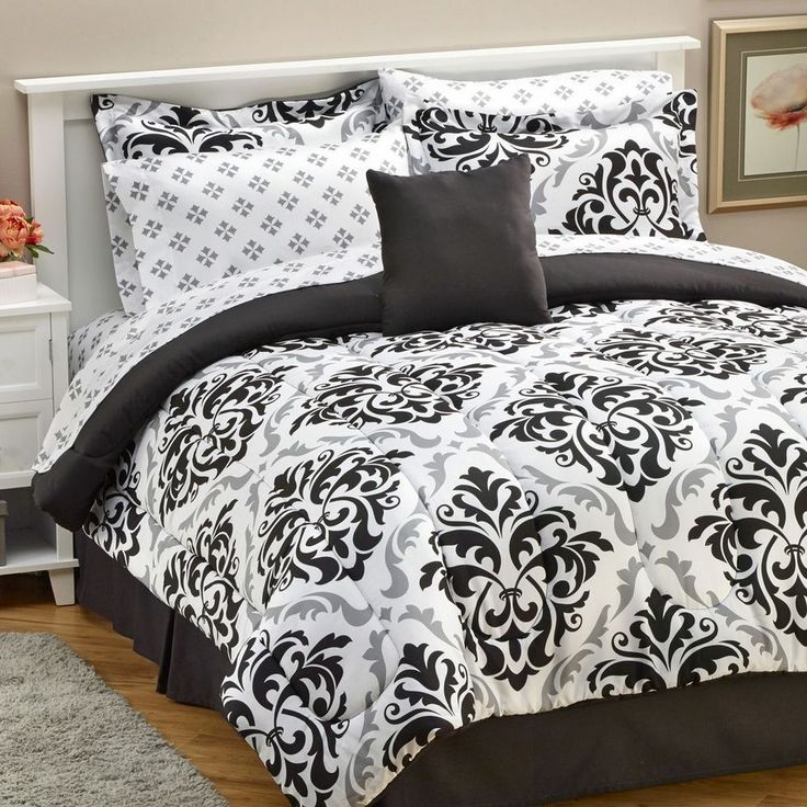 Alcove Parrish 8 Piece Comforter and Sheet Set - Full #Alcove #Contemporary
