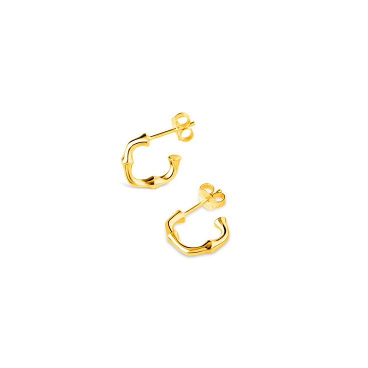 Dinny Hall Soft Square Bamboo Hoops