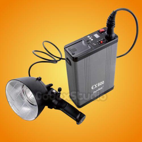By DHL Godox EX600 600W Portable Outdoor Studio Flash Strobe Light Kit | eBay