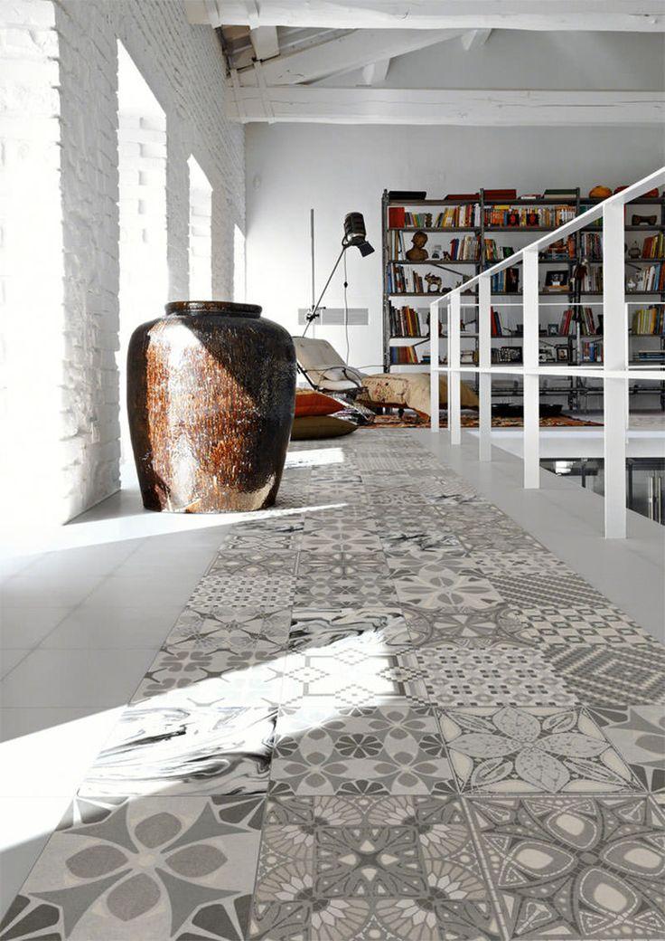 1000 ideias sobre cozinha piso de ladrilho no pinterest - Ladrillo hidraulico ...