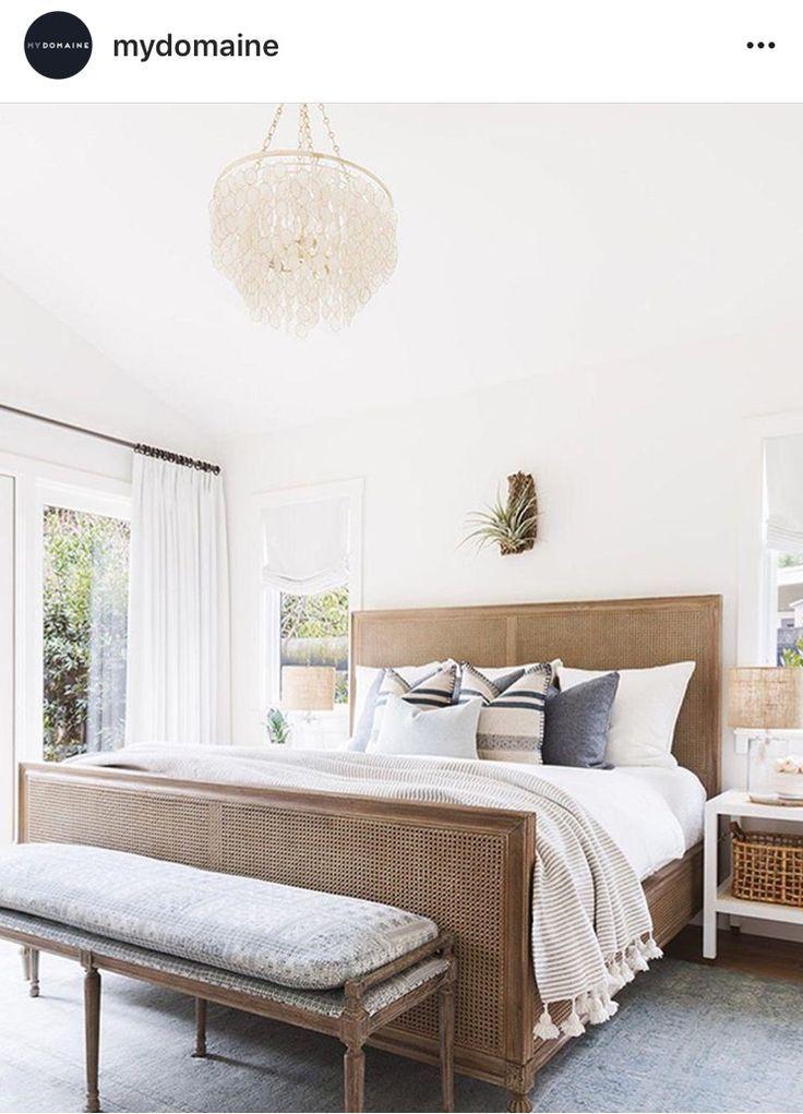 Neutral Bedroom Decor Modern Coastal Bedroom Decor White Wall