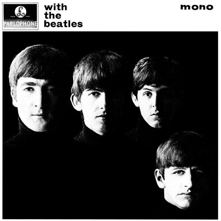 John Lennon,Paul McCartney,George Harrisonand Ringo Starr for With The Beatles, the Beatles' second album, by Robert Freeman, Friday 22nd November, 1963