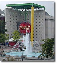 The original World of Coca-Cola was in the heart of downtown Atlanta, adjacent to Underground Atlanta at 55 Martin Luther King Jr Drive. It opened in 1991, and remained open for 16 years until it was replaced by the current location.