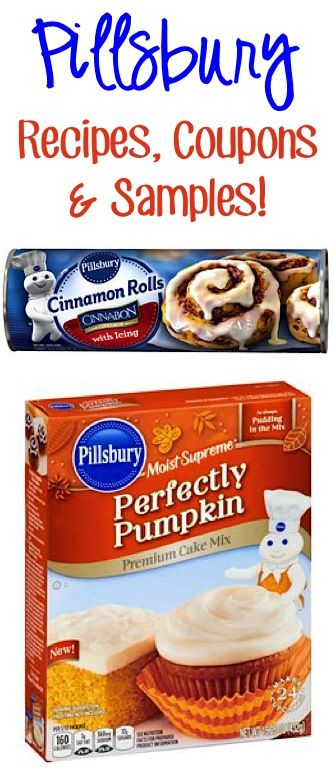 FREE Pillsbury Recipes, Coupon...