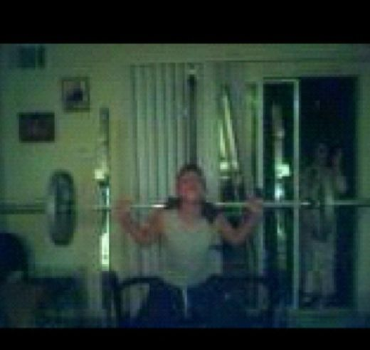 """My brother took this picture when I was in 10th grade and squatting this was the result… To this day still can't explain what or who this is."" – Reddit/Paranormal"