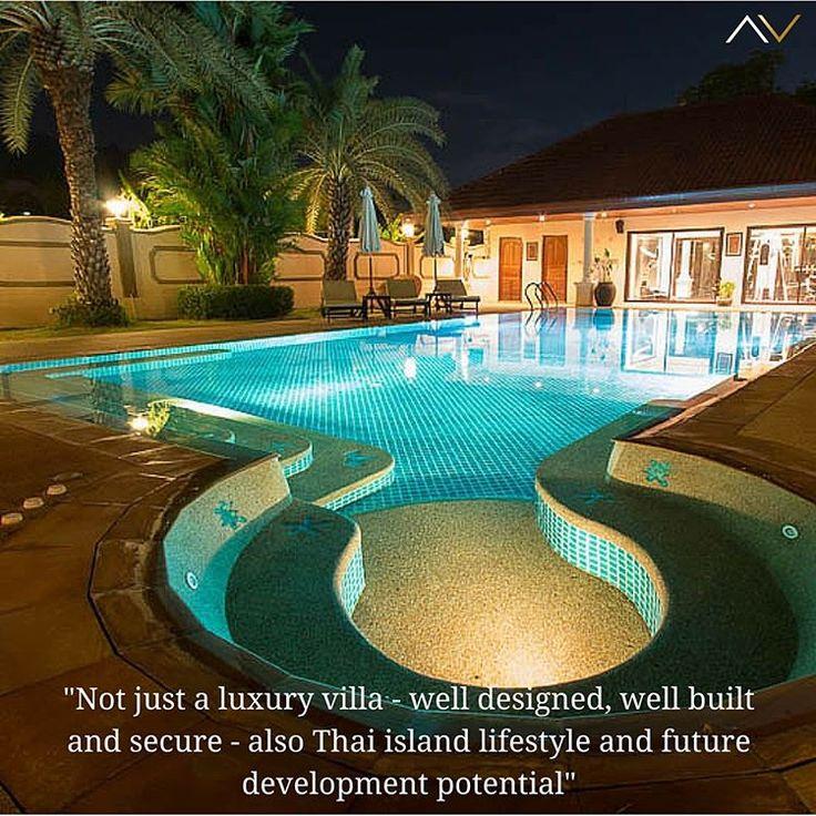 Luxury thai villa with pool and jacuzzi near Phuket, Thailand