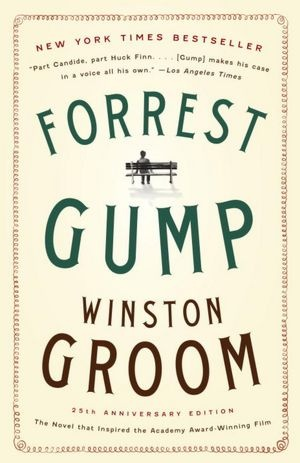 Forrest Gump by Winston Groom.  Found a first edition on a discount table in the mid-eighties.  Cost me $2.