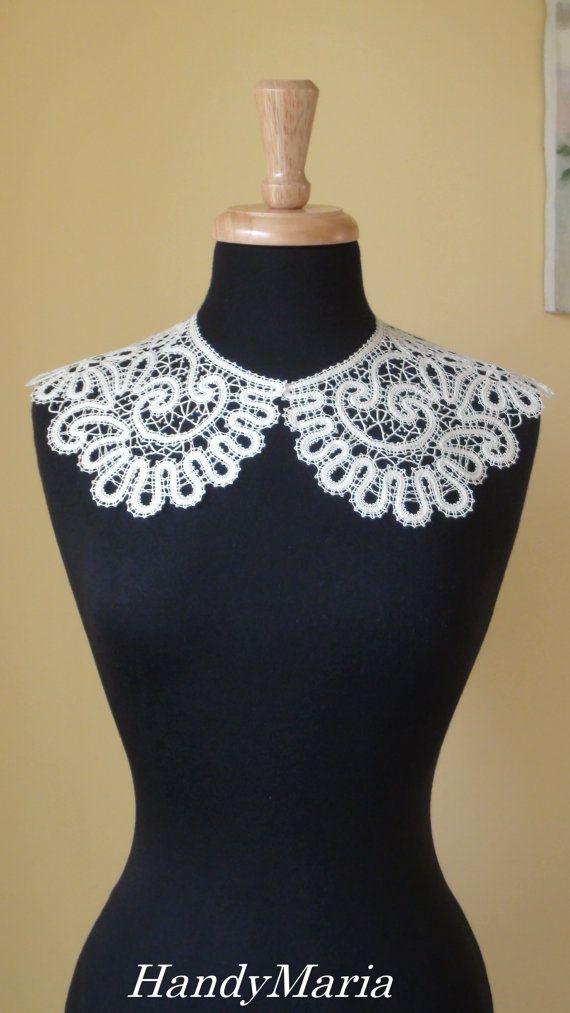 Bobbin Lace  Collar