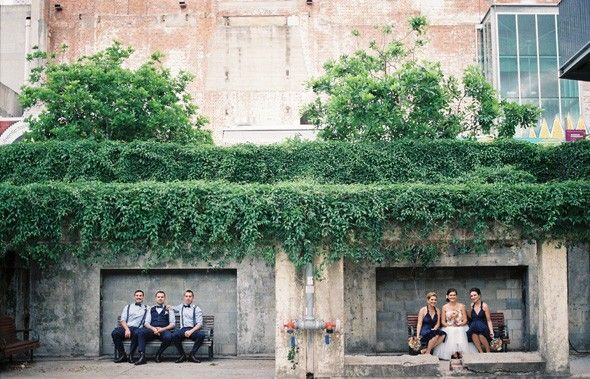 Tash and Nick's Brisbane Powerhouse wedding!  #brisbanewedding #brisbanepowerhouse #weddingphotography #weddingphotographer #bride #groom #birdandboyphotography #weddinginspo
