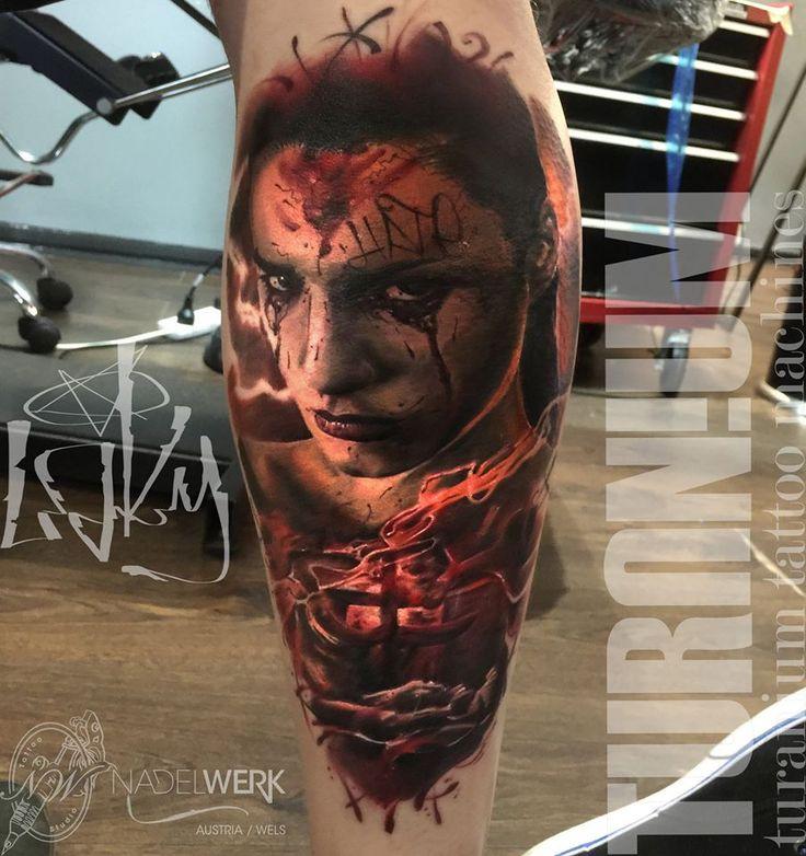Terror tattoo by Maksims Zotovs